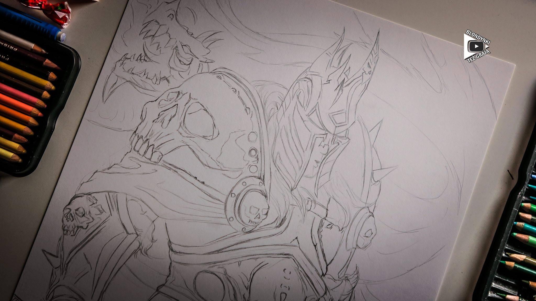 Lich King World of Warcraft by Blondynki Też Grają