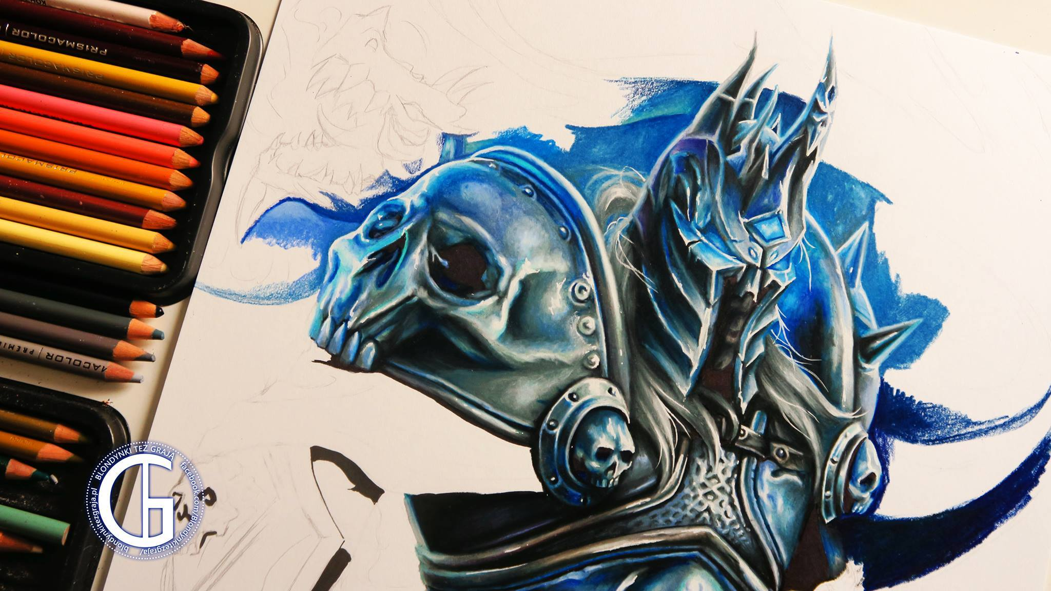 Lich King World of Warcraft by Blondynki Też Grają