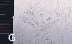 Zoe drawing by Blondynki Też Grają - League of Legends art