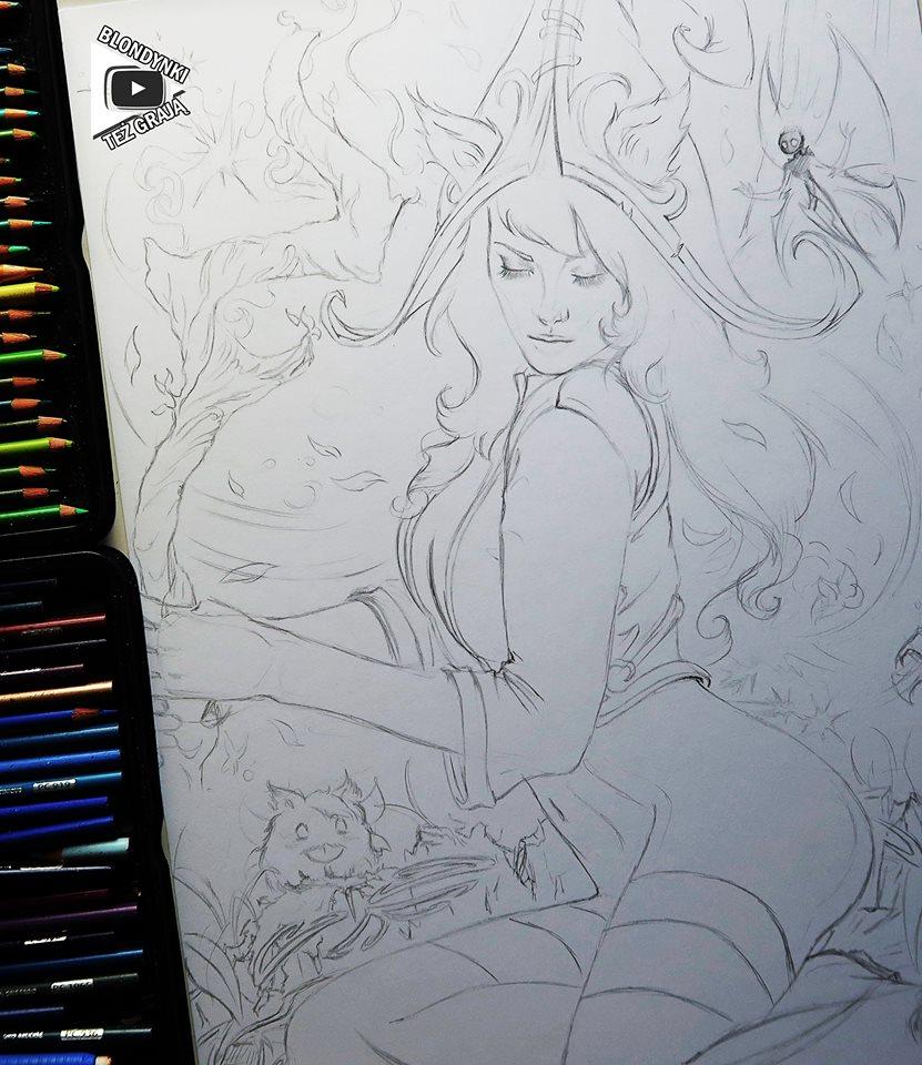 Lulu drawing by Blondynki Też Grają - League of Legends art